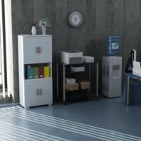 Sanal Mobilya Sorrento Çok Amaçlı Ofis Dolabı G3-K1-K1