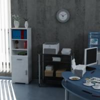 Sanal Mobilya Sorrento Çok Amaçlı Ofis Dolabı G4-Ç1-K2