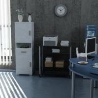 Sanal Mobilya Sorrento Çok Amaçlı Ofis Dolabı G4-Ç1-K3
