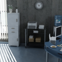 Sanal Mobilya Sorrento Çok Amaçlı Ofis Dolabı G4-Ç2-K3