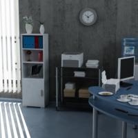 Sanal Mobilya Sorrento Çok Amaçlı Ofis Dolabı G4-K2