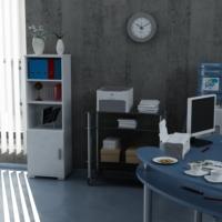 Sanal Mobilya Sorrento Çok Amaçlı Ofis Dolabı G4-K3