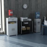 Sanal Mobilya Sorrento Çok Amaçlı Ofis Dolabı G5-Ç3-K4