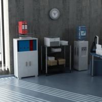 Sanal Mobilya Sorrento Çok Amaçlı Ofis Dolabı G5-K4