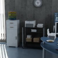 Sanal Mobilya Sorrento Çok Amaçlı Ofis Dolabı G6-Ç2-K5