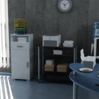 Sanal Mobilya Sorrento Çok Amaçlı Ofis Dolabı K5-G6-Ç1