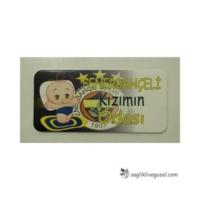 İlkim Kapı Yazısı - Kızımın Odası / Fenerbahçeli