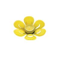 Tealigt Mumluk Metal Çiçek Sarı