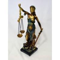 Adalet Heykeli 21 cm.