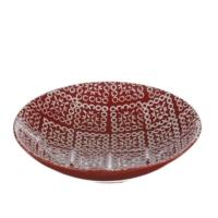 iHouse Xy02Et Dekoratif Tabak Kırmızı