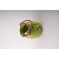 iHouse 53611Y Dekoratif Mumluk Yeşil
