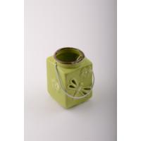 iHouse 56317Y Dekoratif Mumluk Yeşil