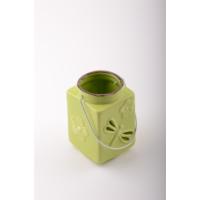 iHouse 53318Y Dekoratif Mumluk Yeşil