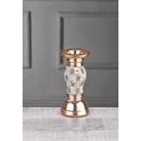 iHouse Ch07 Dekoratif Şamdan-Gold
