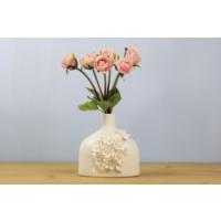 Ancel Qmf27 Çiçek Motifli Vazo 14.5Cm