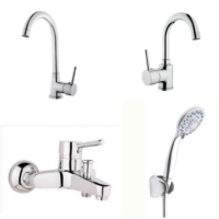 Erce Delta Evye + Lavabo + Banyo Bataryası Ve Duş Takımı