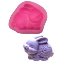Elitparti Tavşan Sabun Ve Kokulu Taş Silikon Kalıbı