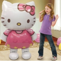 QR Party Hello Kitty Dev Folyo Balon 116 CM