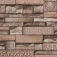 Dekor Harmony 105-D Taş Desenli Duvar Kağıdı