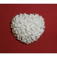 Yıldız Hobi Küçük Kalp Güller Silikon Kokulu Taş ve Sabun Kalıbı