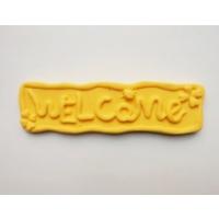 Yıldız Hobi Welcome Silikon Kokulu Taş ve Sabun Kalıbı