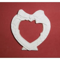 Yıldız Hobi Mini Kalp Çerçeve Silikon Kokulu Taş ve Sabun Kalıbı