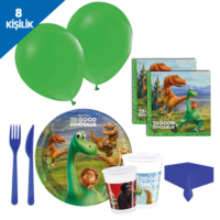 Kullanatmarket The Good Dinosaur Parti Seti 8 Kisilik - 97 Adet