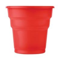 Partistok Kırmızı Plastik Meşrubat Parti Bardağı 25 Adet