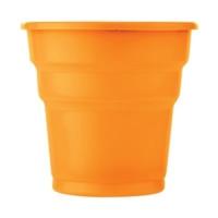 Partistok Turuncu Plastik Meşrubat Parti Bardağı 25 Adet