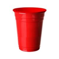 Partistok Kırmızı Büyük Plastik Bardak 8 Adet
