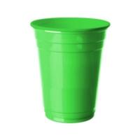 Partistok Yeşil Büyük Plastik Bardak 8 Adet