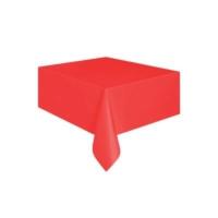 Partistok Kırmızı Masa Örtüsü