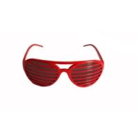 Partistok Panjur Gözlük Kırmızı