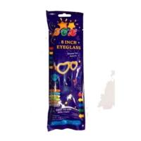 Partistok Glow Stick Gözlük Fosforlu Gözlük Mavi