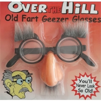 Partistok Kaşlı Burunlu Parti Gözlüğü