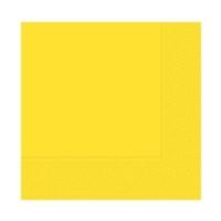 Partistok Sarı Peçete 50 Adet
