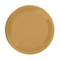 Partistok Altın Plastik Parti Tabağı 26 Cm 8 Adet