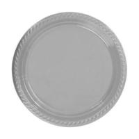 Partistok Gümüş Plastik Parti Tabağı 26 Cm 8 Adet