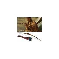 Kayıkcı Oturan Boğa Kızılderili Ok Yay Seti 140Cm Büyük Boy - 20 Oklu