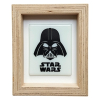 Cool Glass Design Star Wars Cam Duvar Süsü 16 x 20 cm El Yapımı
