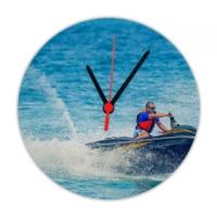 Fotografyabaskı Jet Ski 20 Cm Yuvarlak Hdf Saat Baskı
