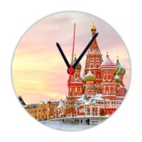 Fotografyabaskı Disneyland Moscova 20 Cm Yuvarlak Hdf Saat Baskı