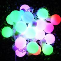 Practika Büyük Top 20 Ledli Dolama Dekor Işıkları (RGB 5m.)