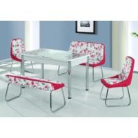 Bydamat Mutfak Banklı Masa Takımı Kelebek Açılır Kırmızı