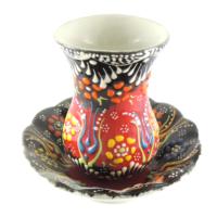 Oğuz Çini Çini Çay Seti