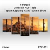 Printix Dekoratif MDF Tablo PDF-17231