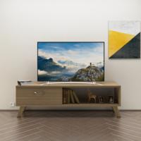 Eyibil Mobilya Kuzey 120 cm Tv Sehpası Tv Ünitesi Ceviz