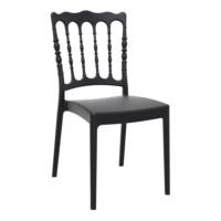 Siesta Contract Napoleon Düğün Sandalyesi - Siyah
