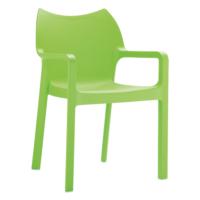 Siesta Contract Diva Sandalye - Yeşil