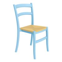 Siesta Contract Tiffany-S Sandalye - Mavi